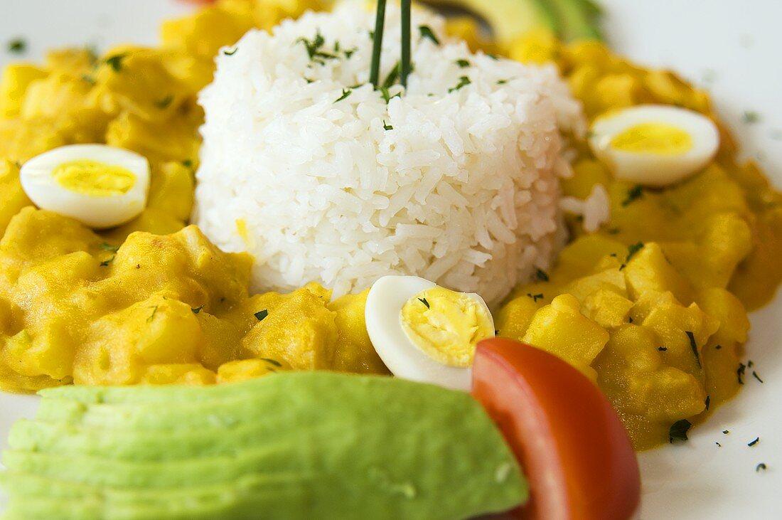 Guatita (Beef tripe with rice, Ecuador)
