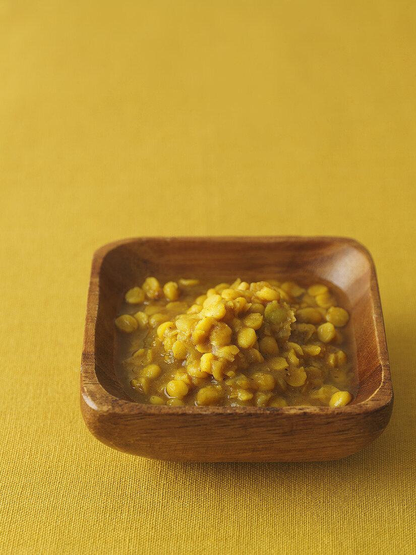 Chana dal (Indian yellow lentil stew)
