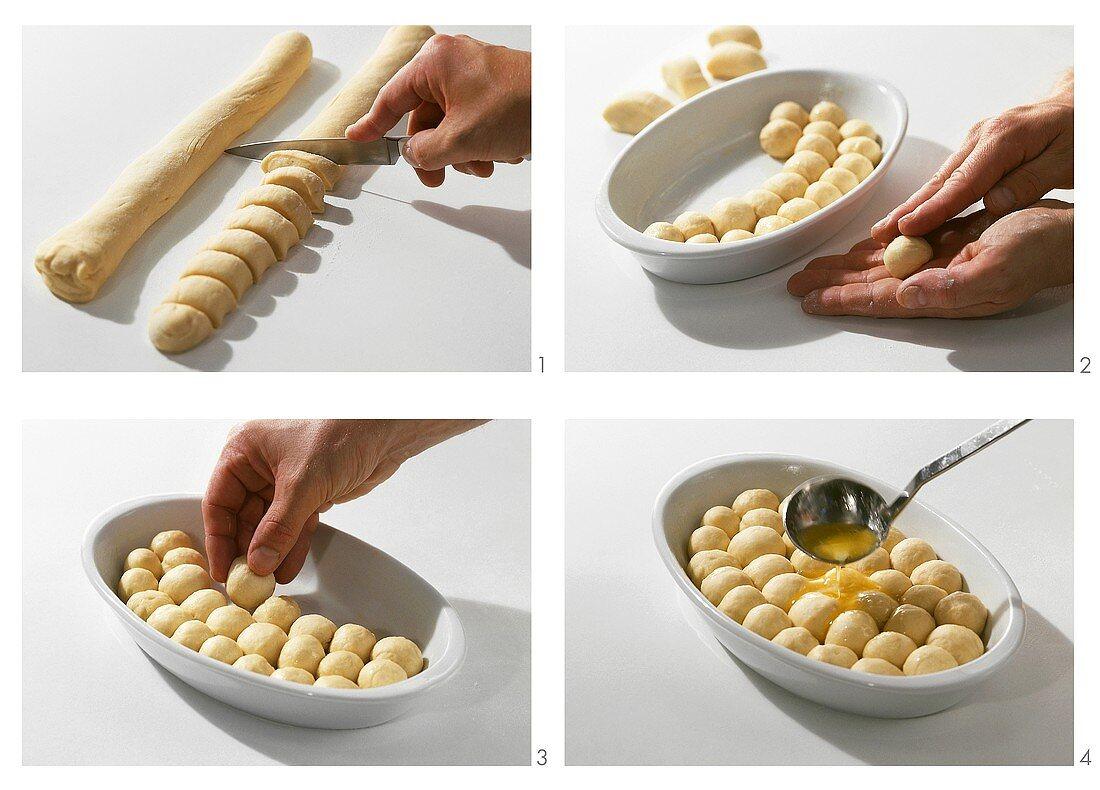 Making 'Ducat' buns