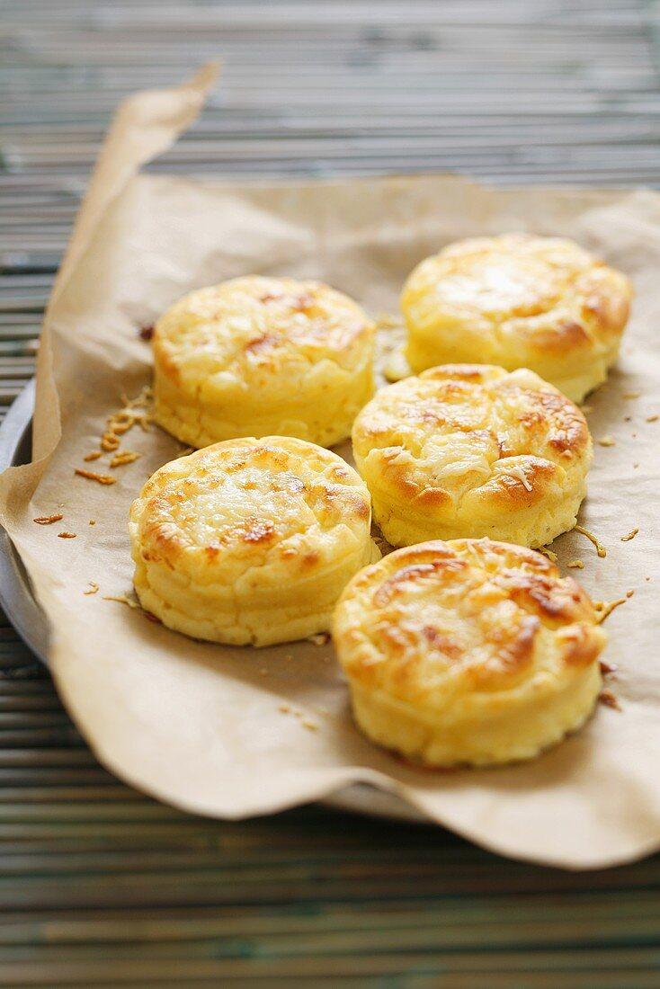 Cheese soufflés
