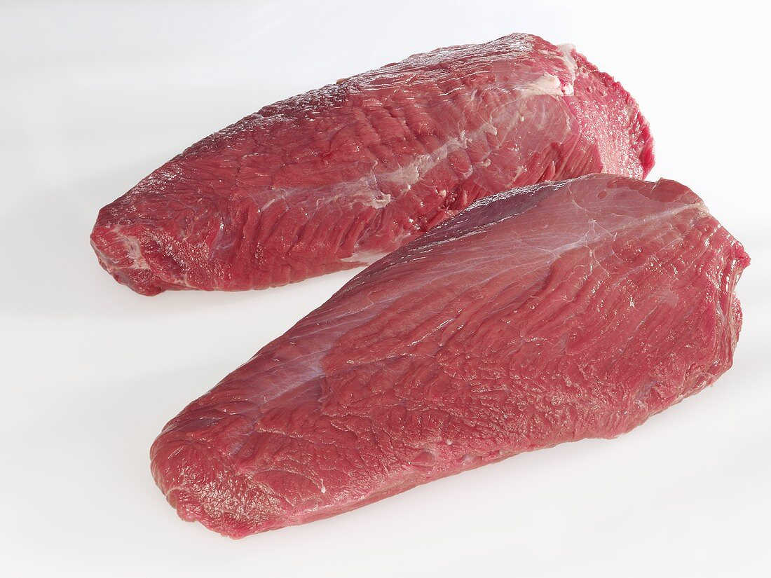 Beef: chuck eye steak (a cut from the shoulder)
