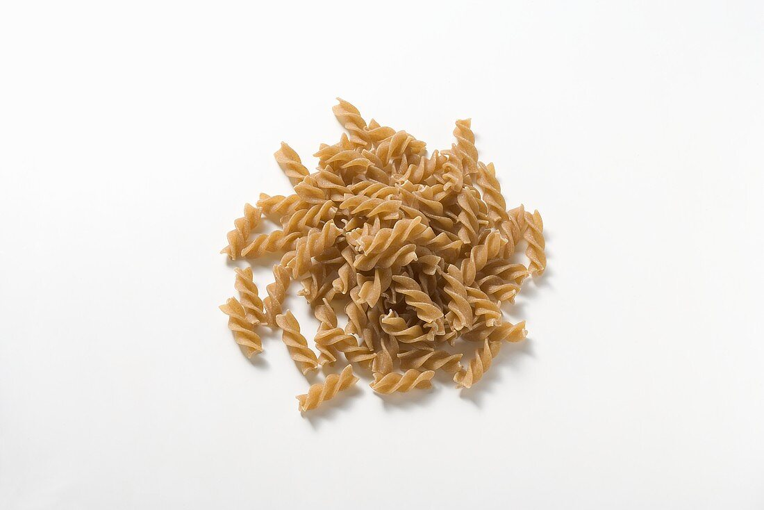 Fusilli integrali made with wholemeal durum wheat