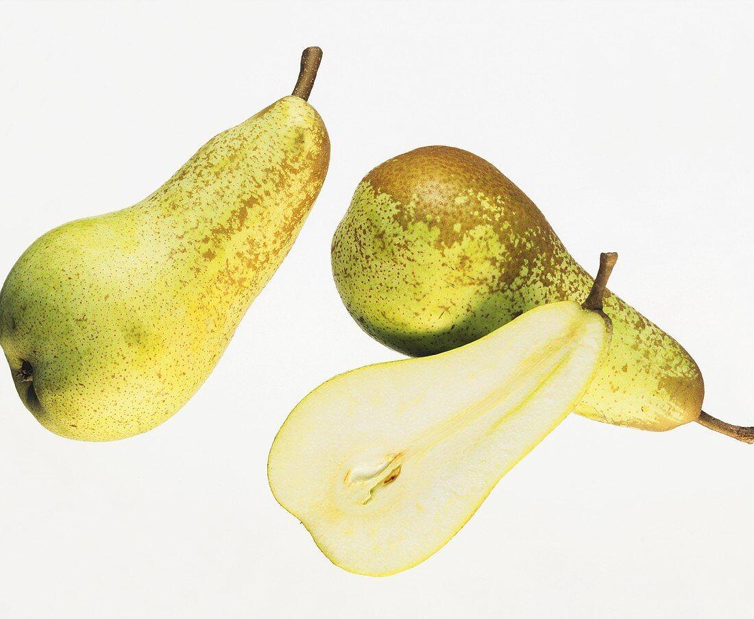 Pears (variety: Abate Fetel)