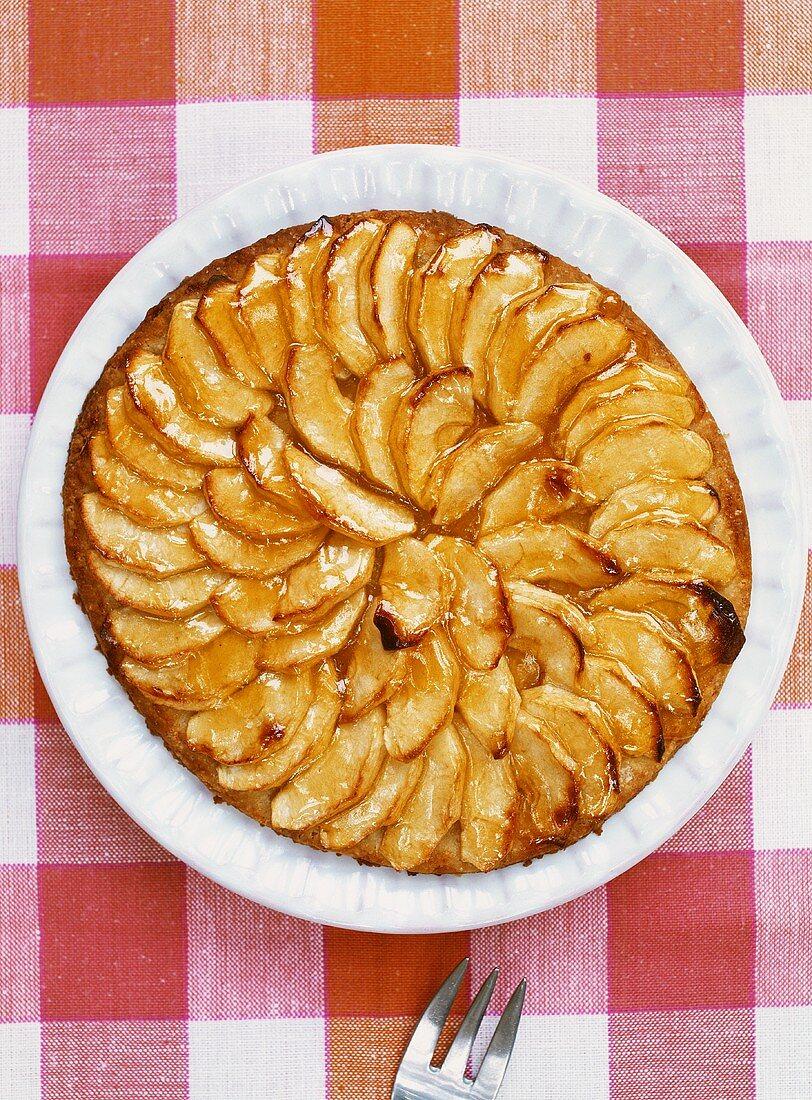 Tarte Normande (Normandy-style apple tart)