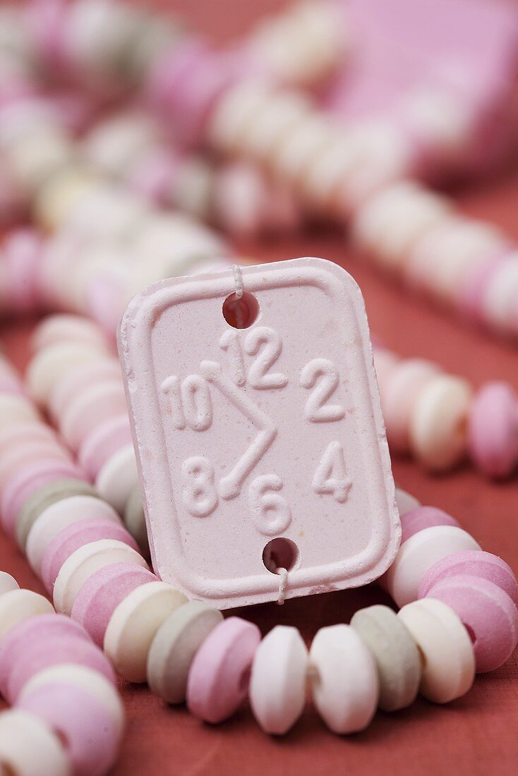 A candy necklace