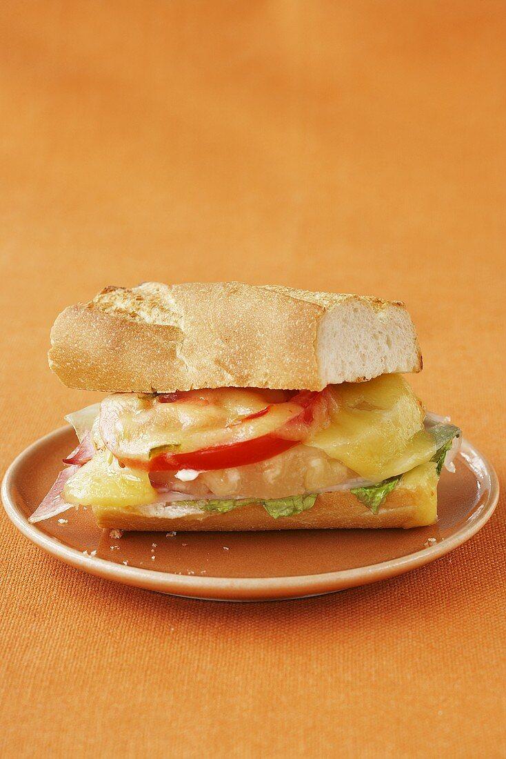 Hawaiian baguette