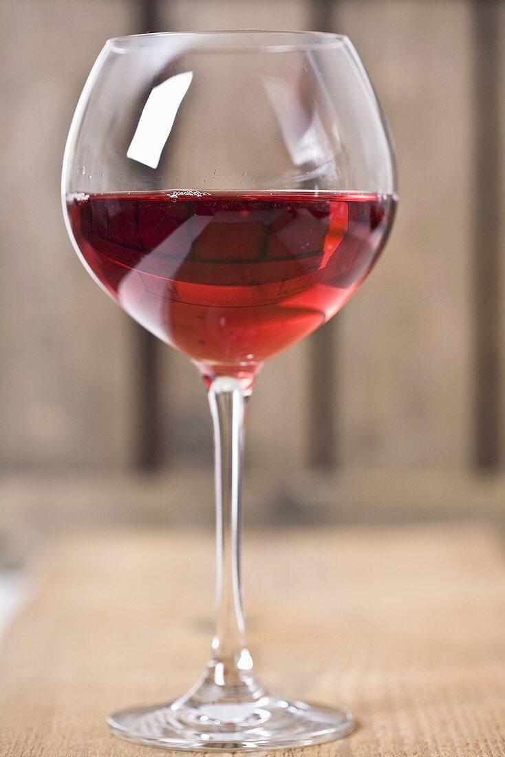 A glass of Spätburgunder Rosé from Markgräflerland, Germany