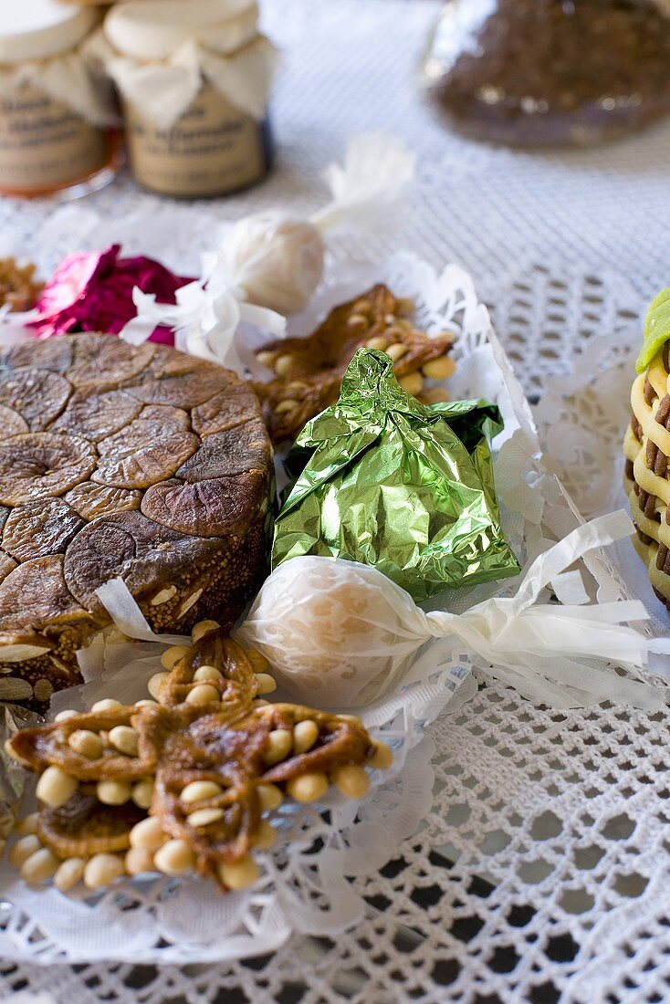 Assorted confectionery from Southern Portugal