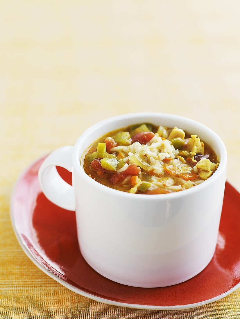 Anglo-Indian mulligatawny soup