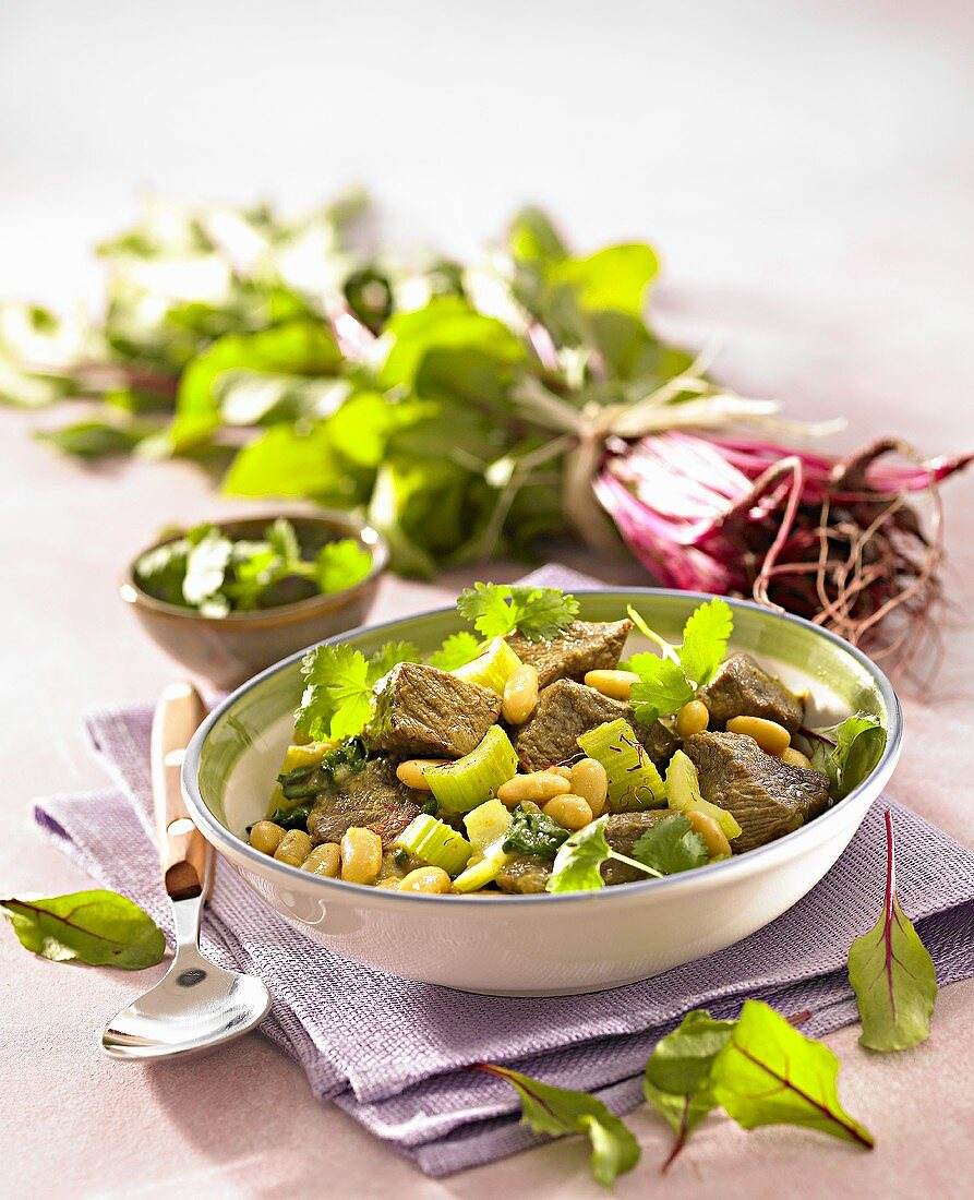 Tabikha (Meat and chick-pea stew, Libya)