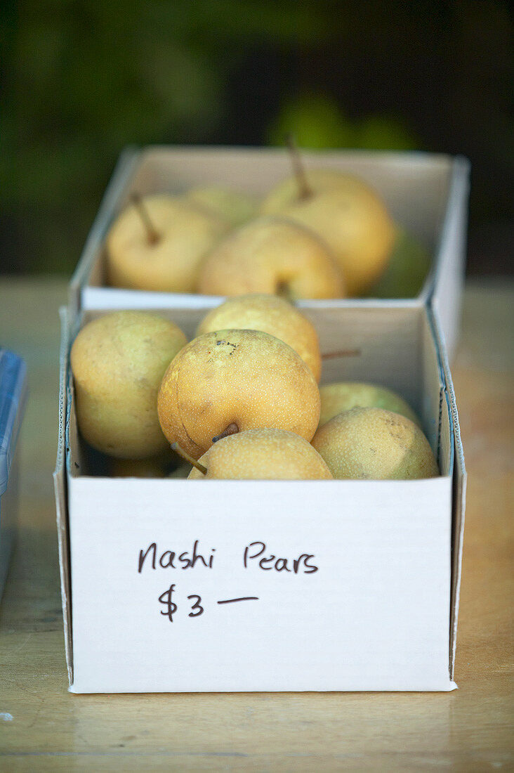 Nashi pears for sale, New Zealand