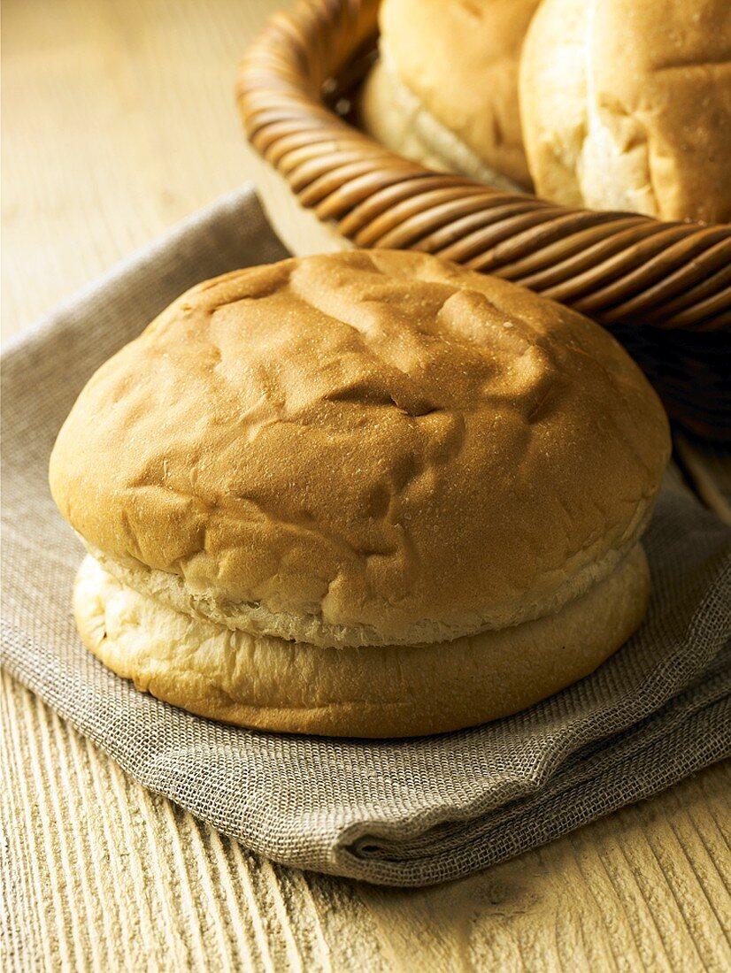 Sally Lunn buns (Light teacake, England)