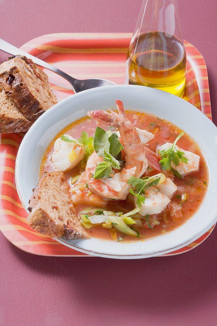 Zuppa di pesce (Italian fish soup)