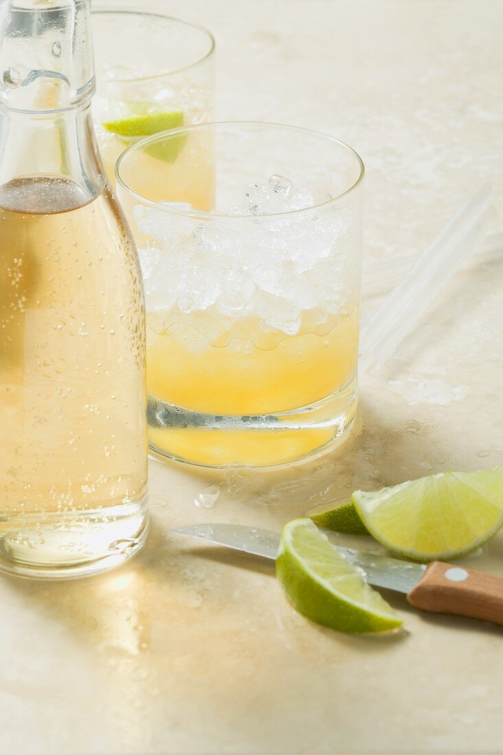 Mare Mara (non-alcoholic cocktail made with fruit juices)