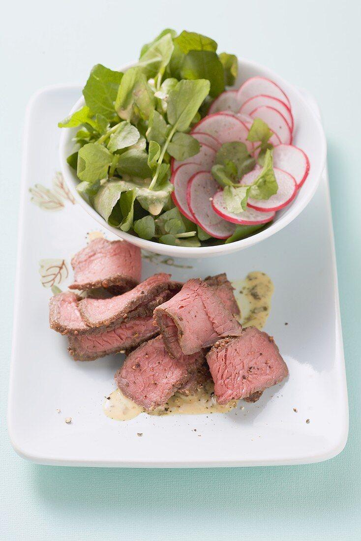 Argentinischer Steaksalat