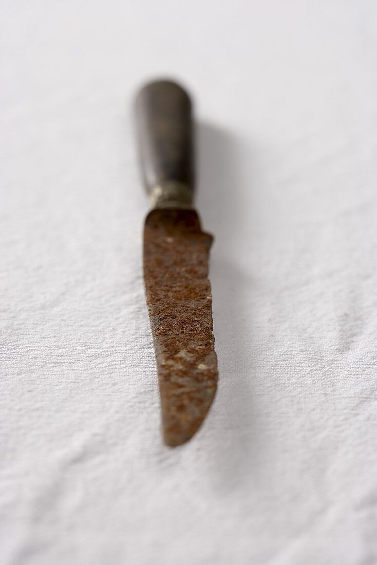 Old rusty knife