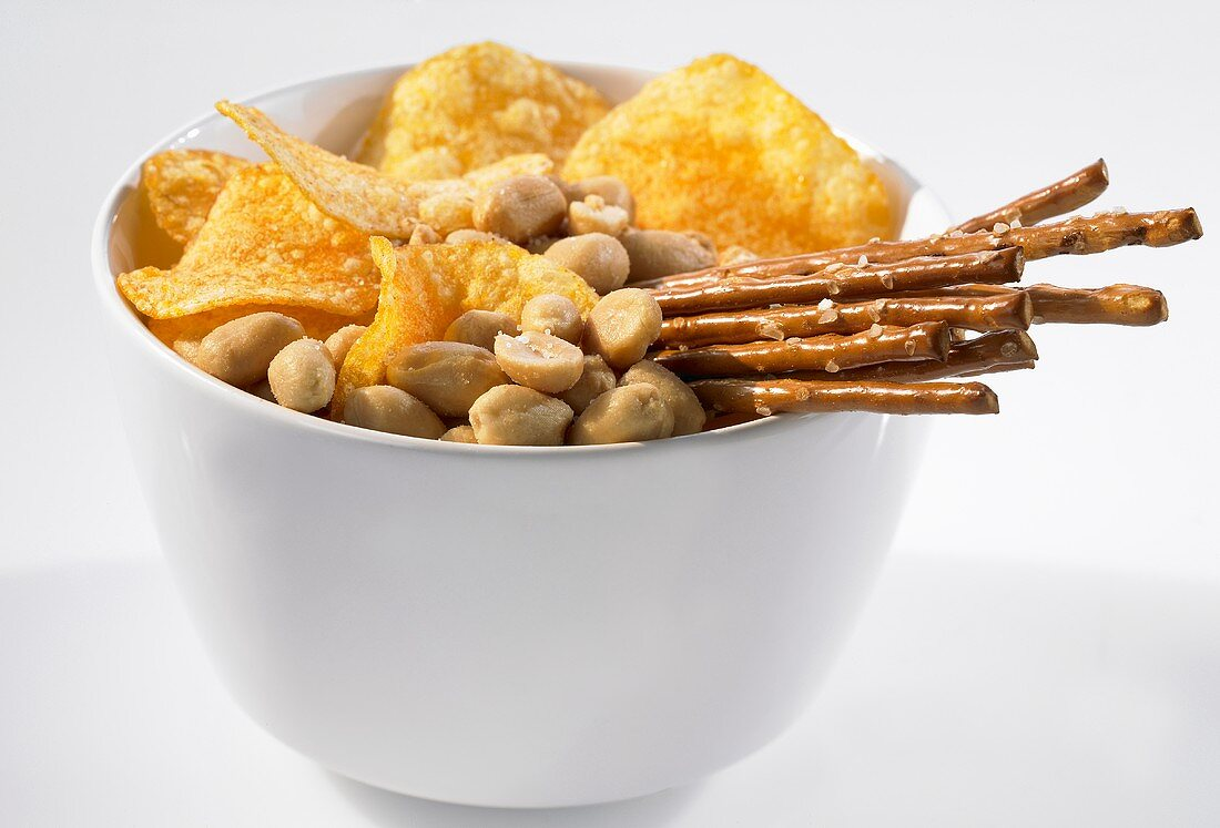 Nibbles in a small bowl