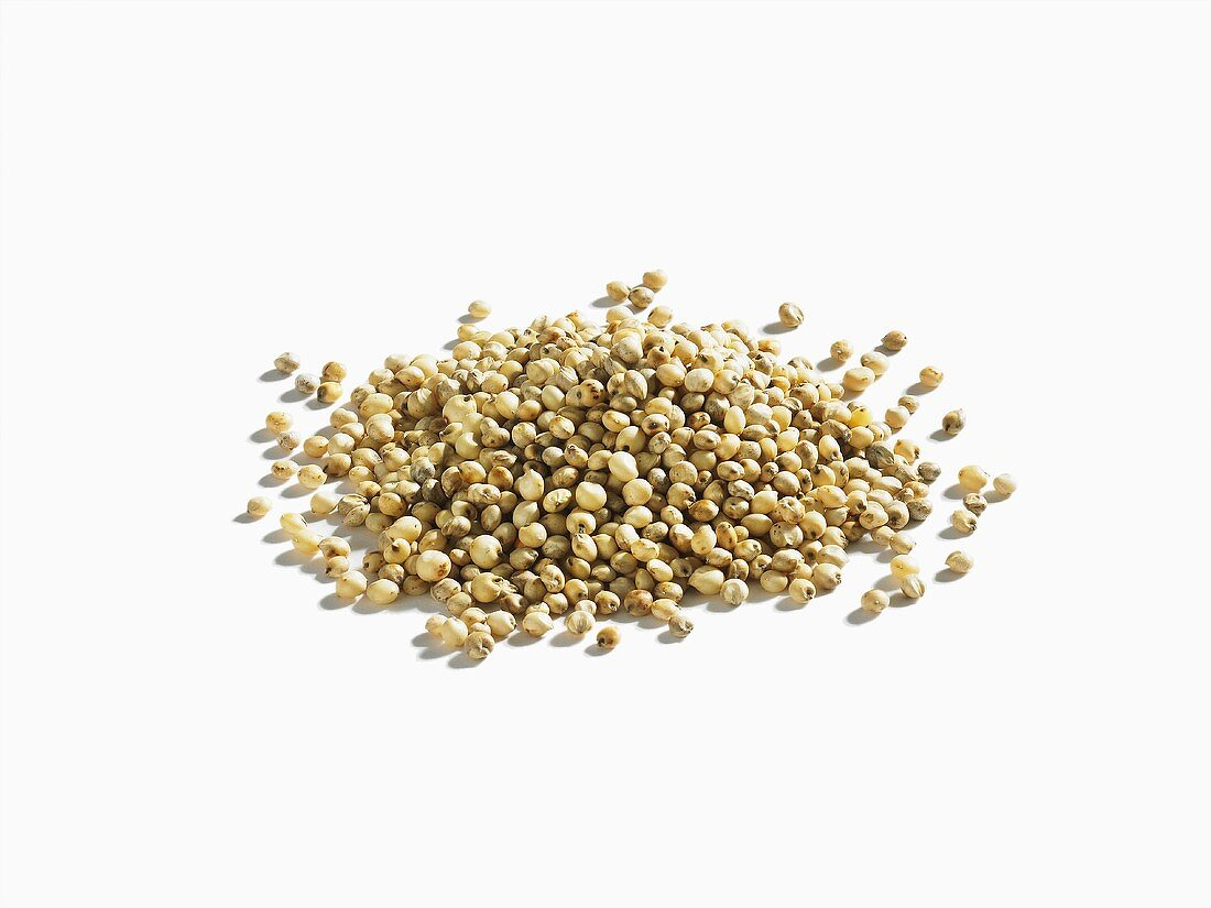 A pile of sorgum (millet)