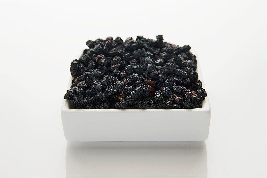Heidelbeeren (Myrtilli fructus siccus), getrocknet
