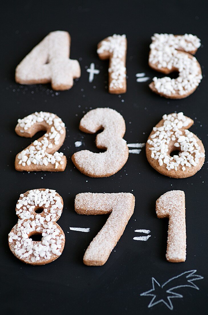 Gingerbread numbers