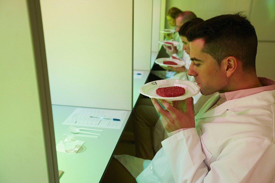 Sensory analysis of foodstuffs