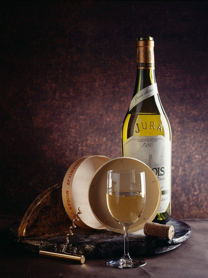 White wine from Jura