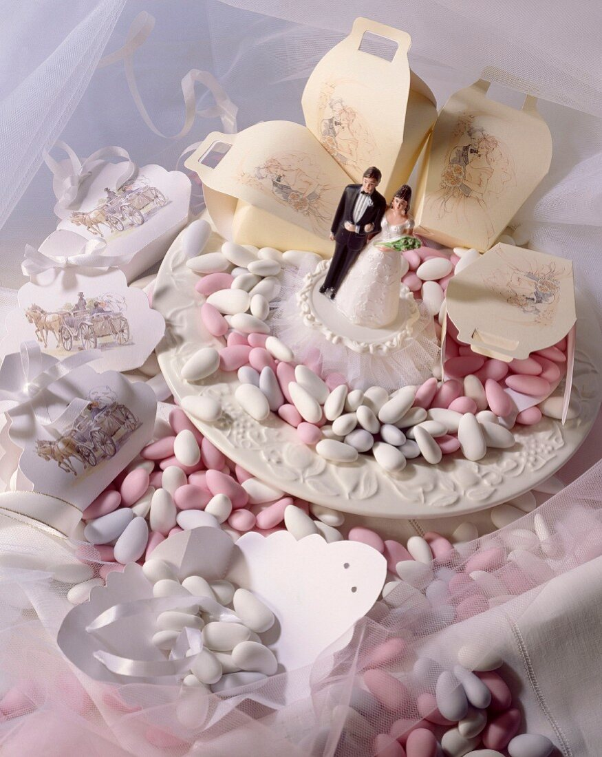 sugared almonds for wedding