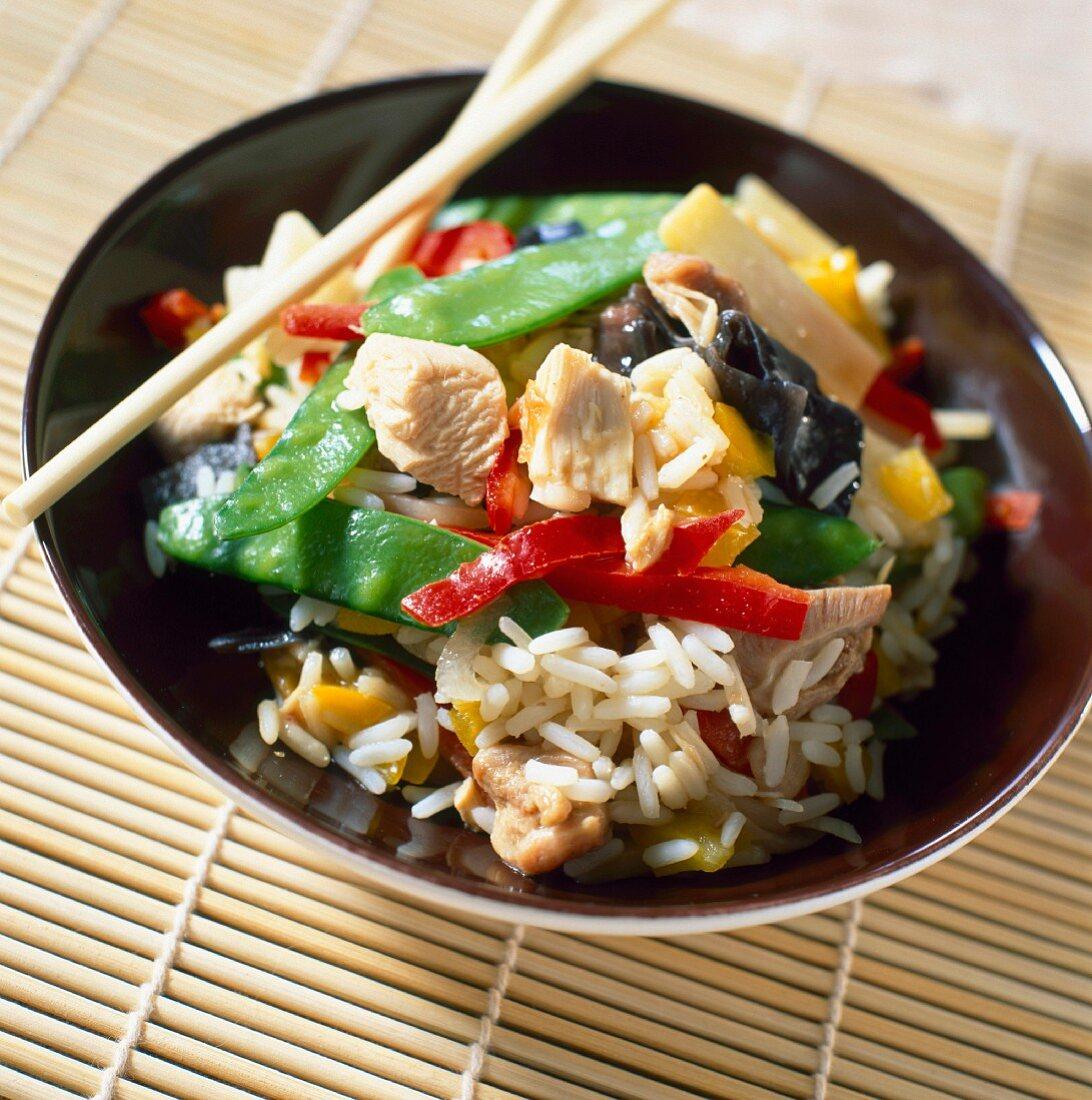 Chop suey vegetables