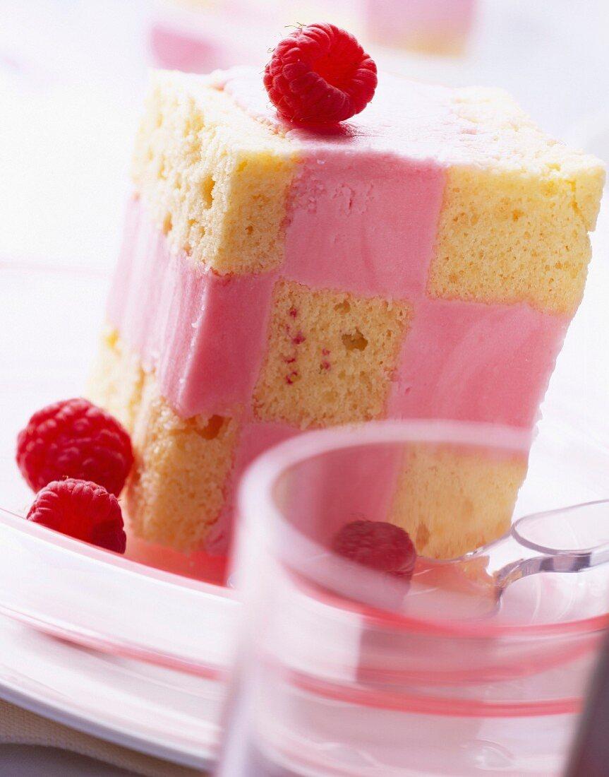 Panache raspberry dessert