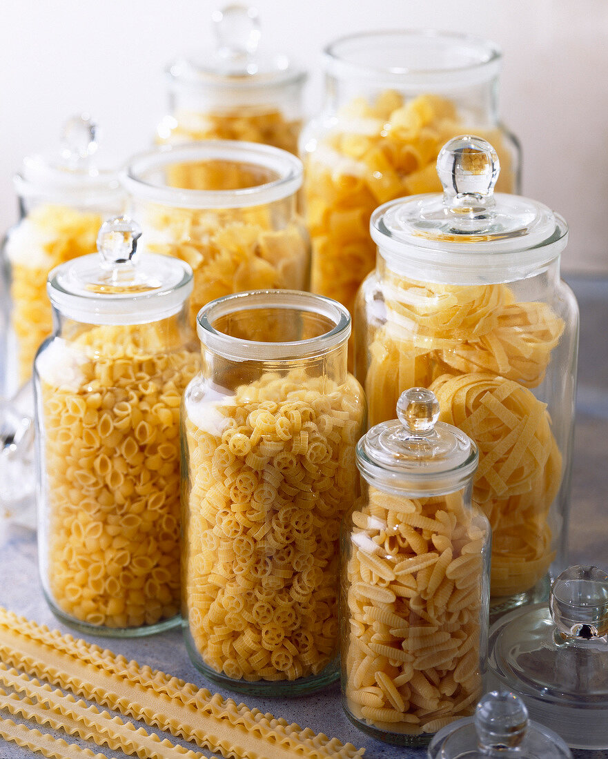 jars of pasta