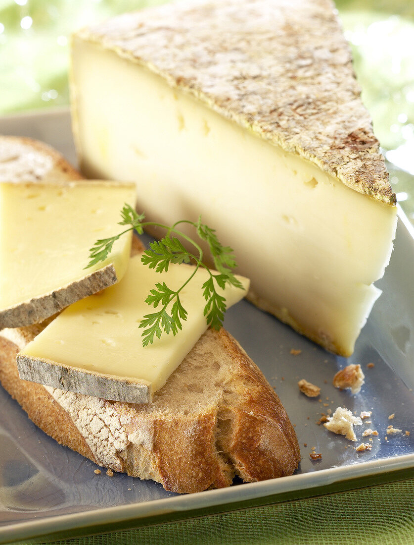 Tomme mountain cheese (topic: summer snacks)