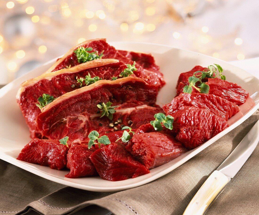 Bovine meat
