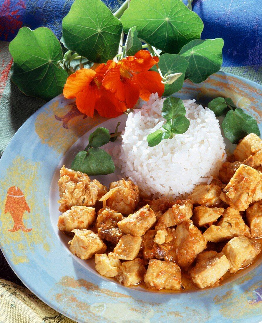 Swordfish cari with Combava