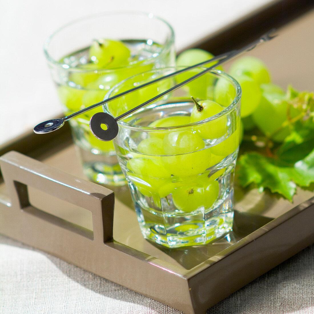 Grapes in eau-de-vie