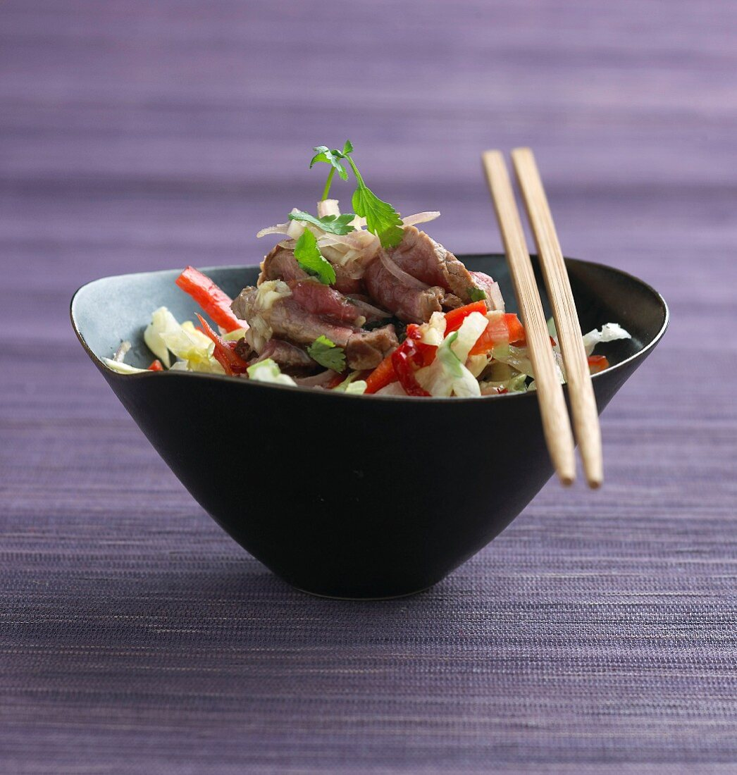 Chinese beef salad