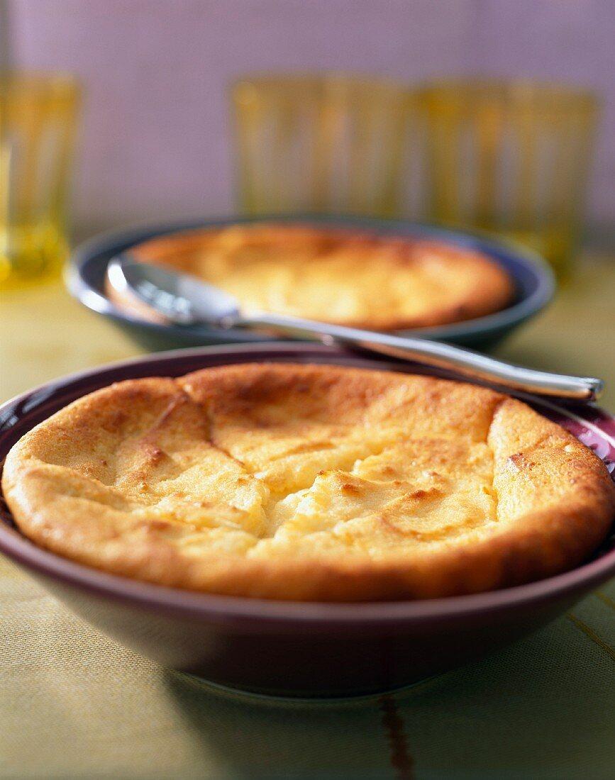 Fiadone,corsican pudding