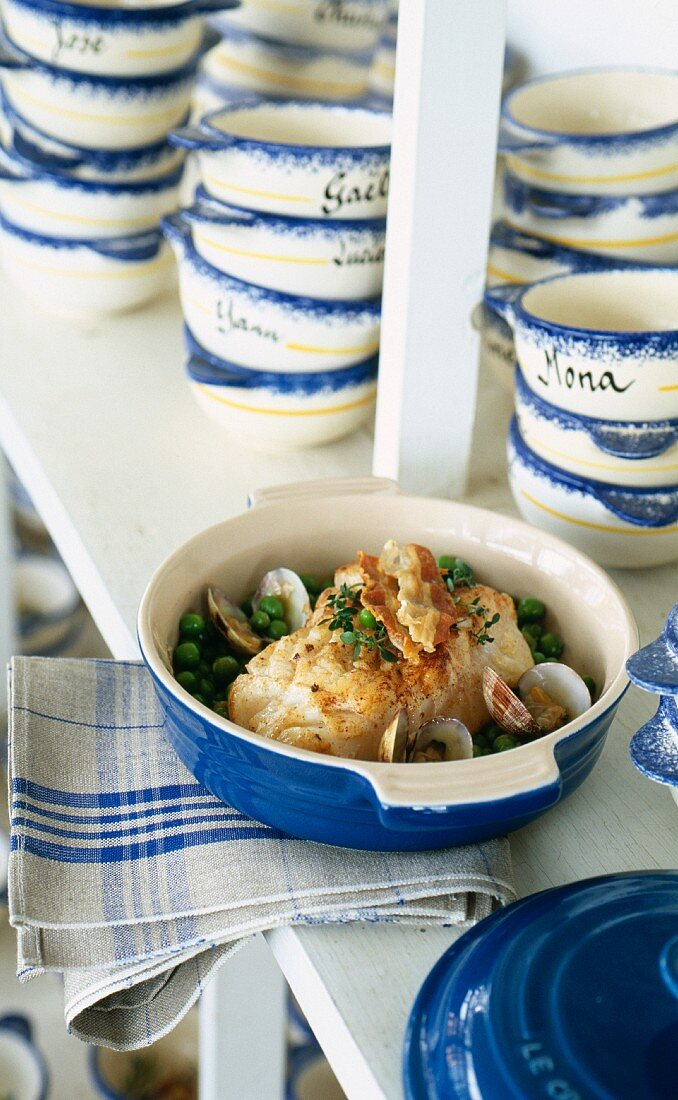 Roast monkfish