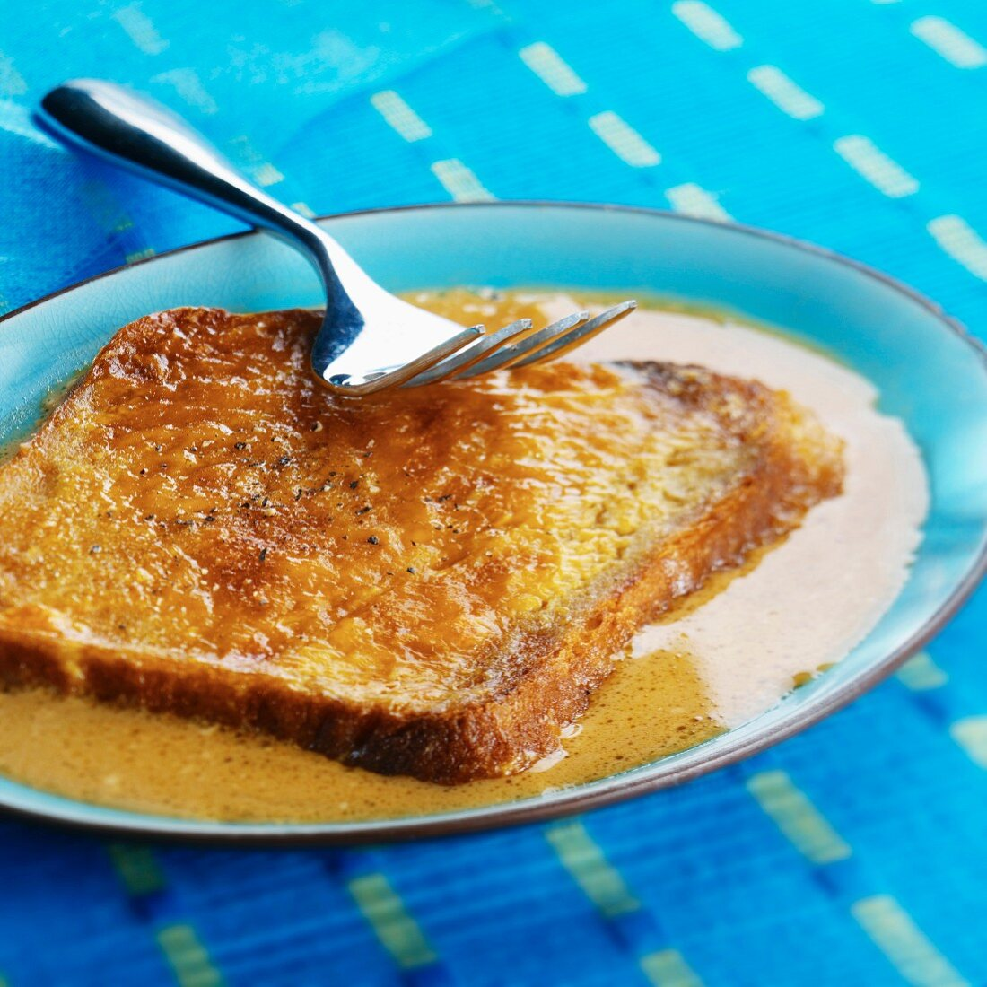 Welsh Rarebit (cheese on toast, Wales)