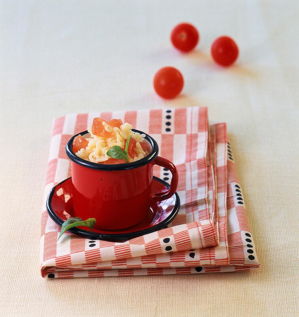 Alphabet pasta salad