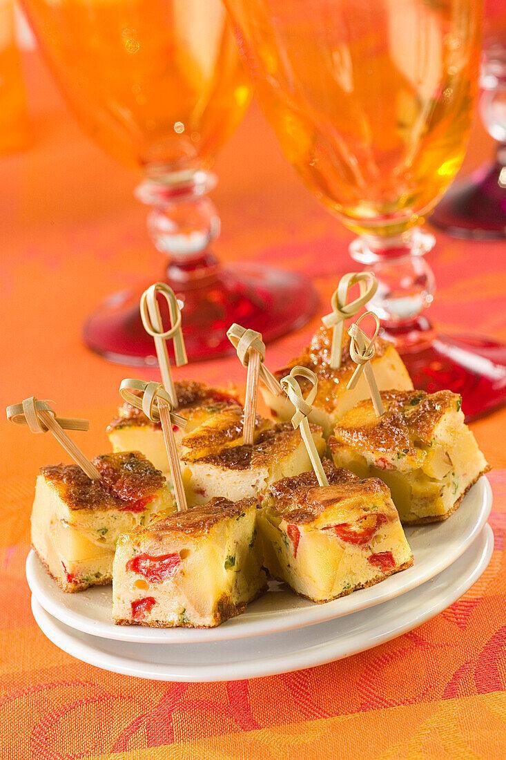 Potato and Pepper Tortilla