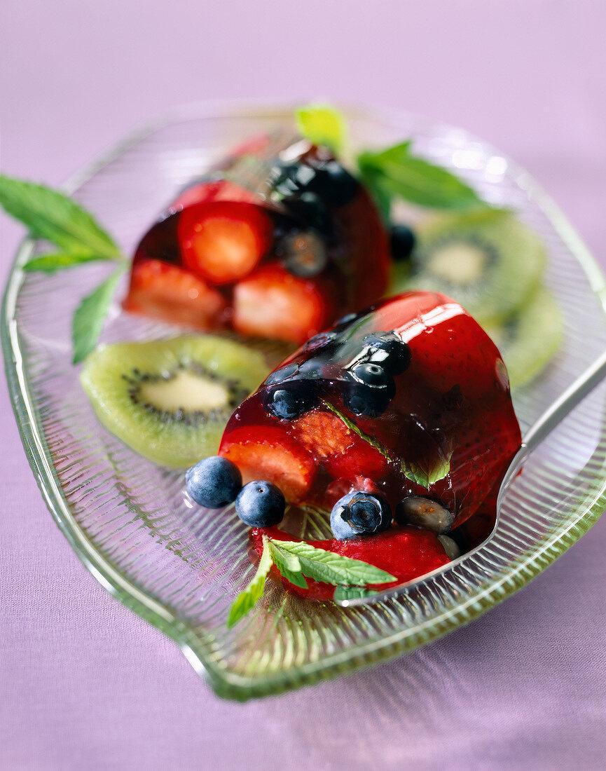 Summer fruit turban