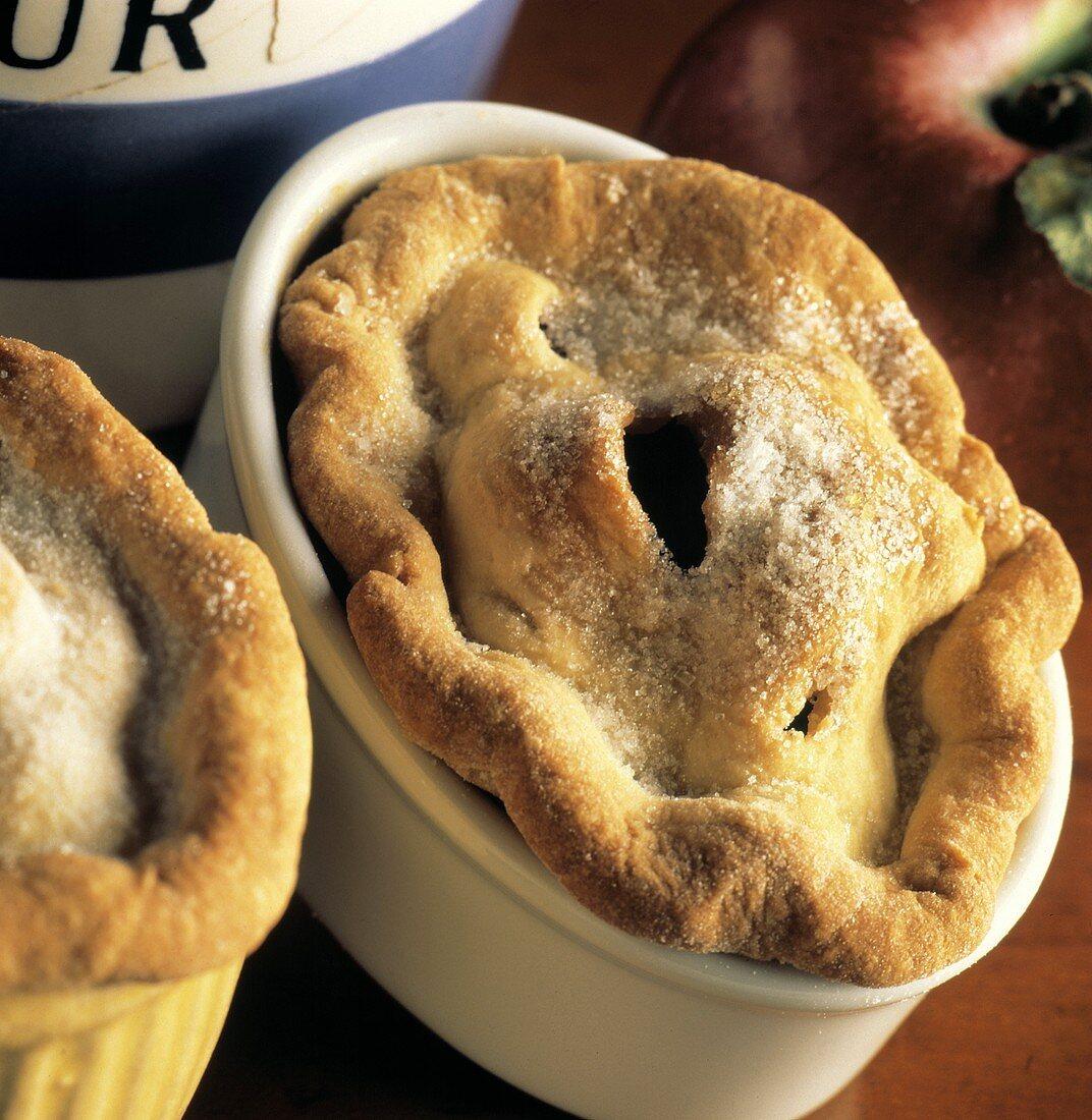 Two Deep Dish Apple Pies