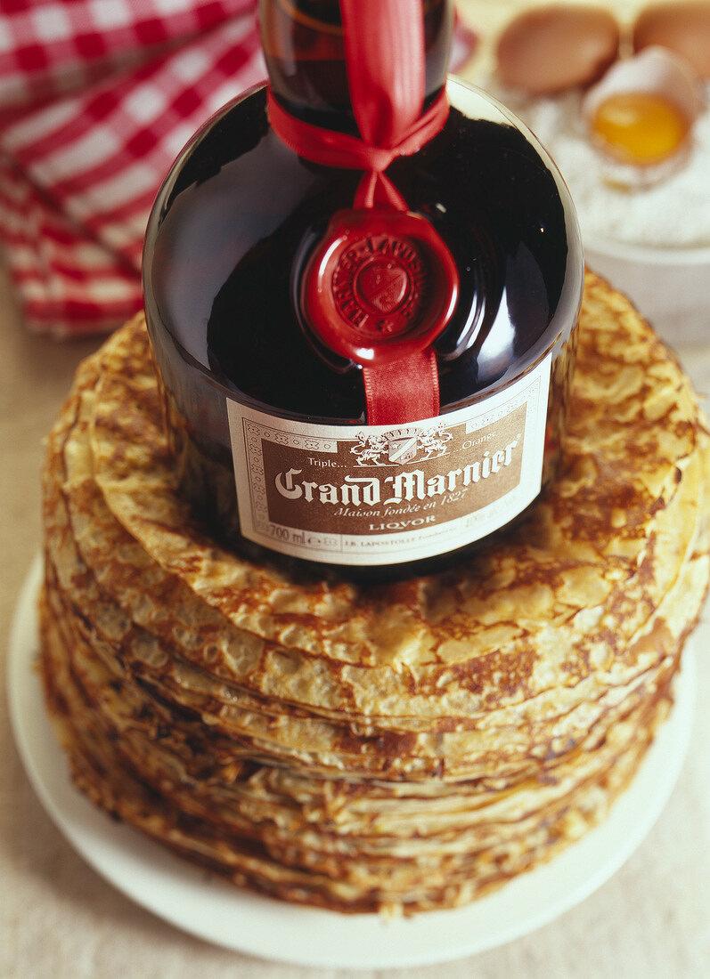 Grand Marnier and pancakes
