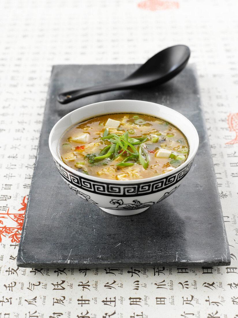 Spicy Pekinese soup