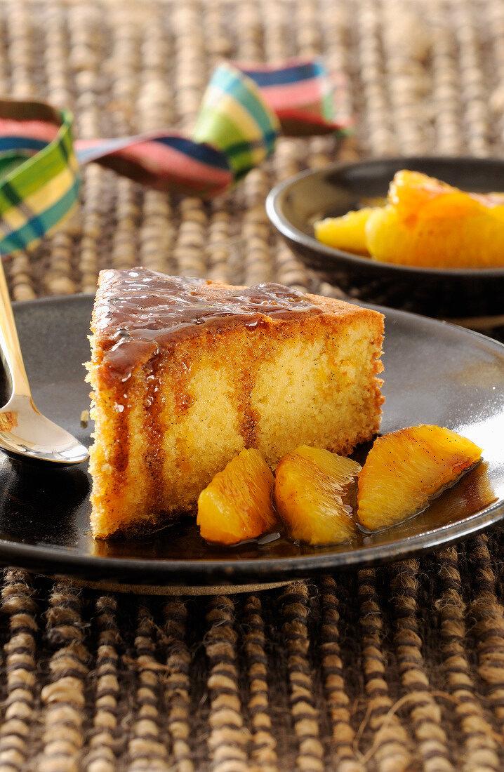 Martinican orange cake