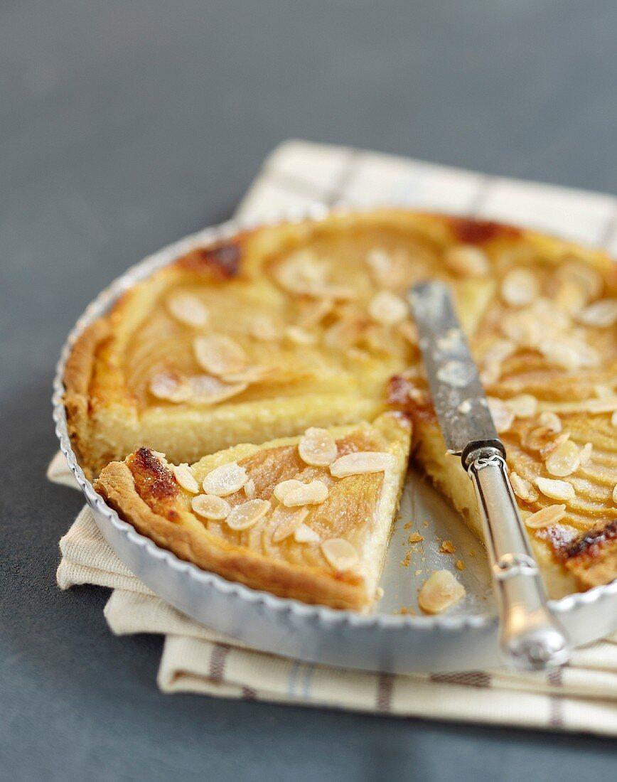 Bourdaloue tart