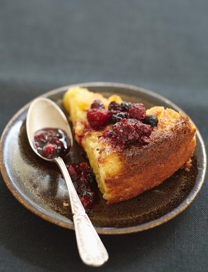 Salted butter Breton cake