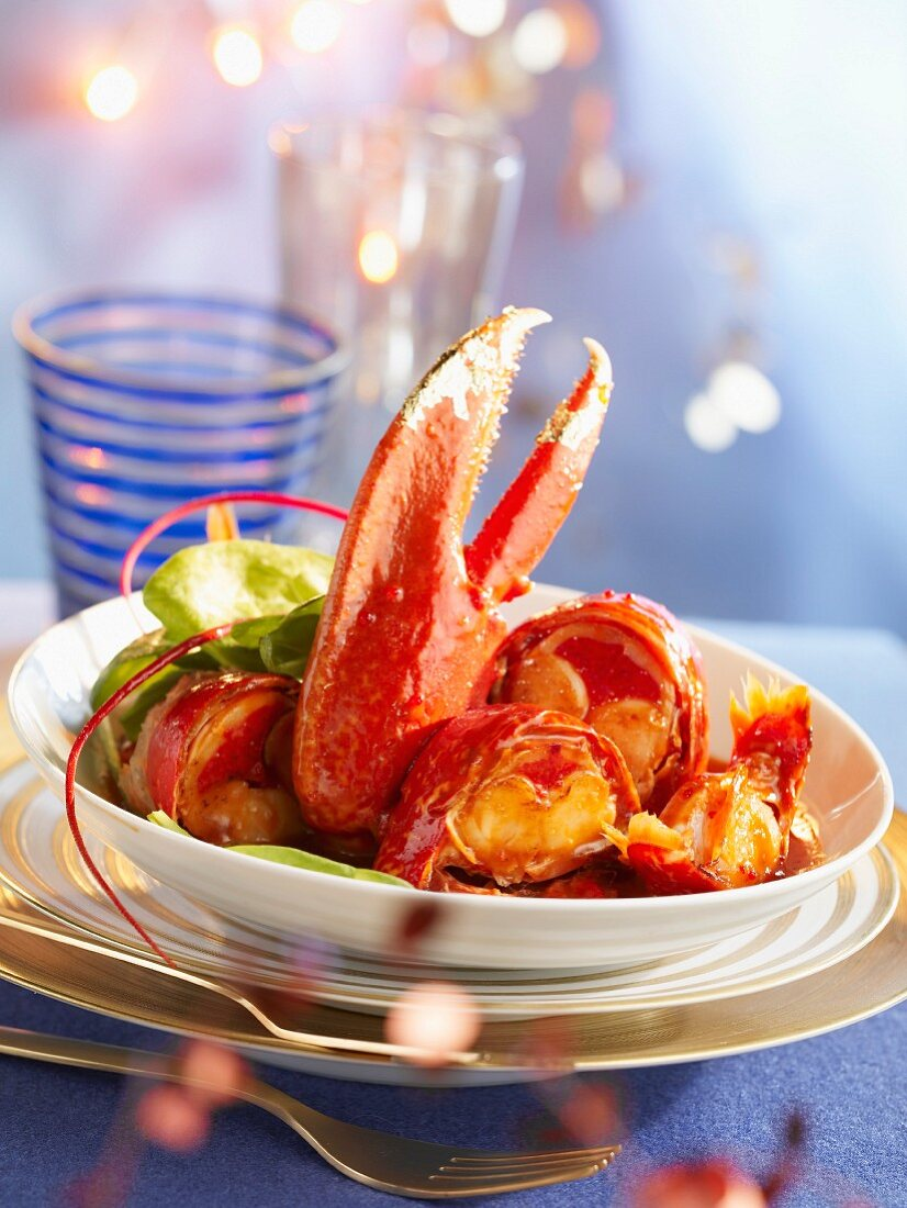 Lobster à l'armoricaine