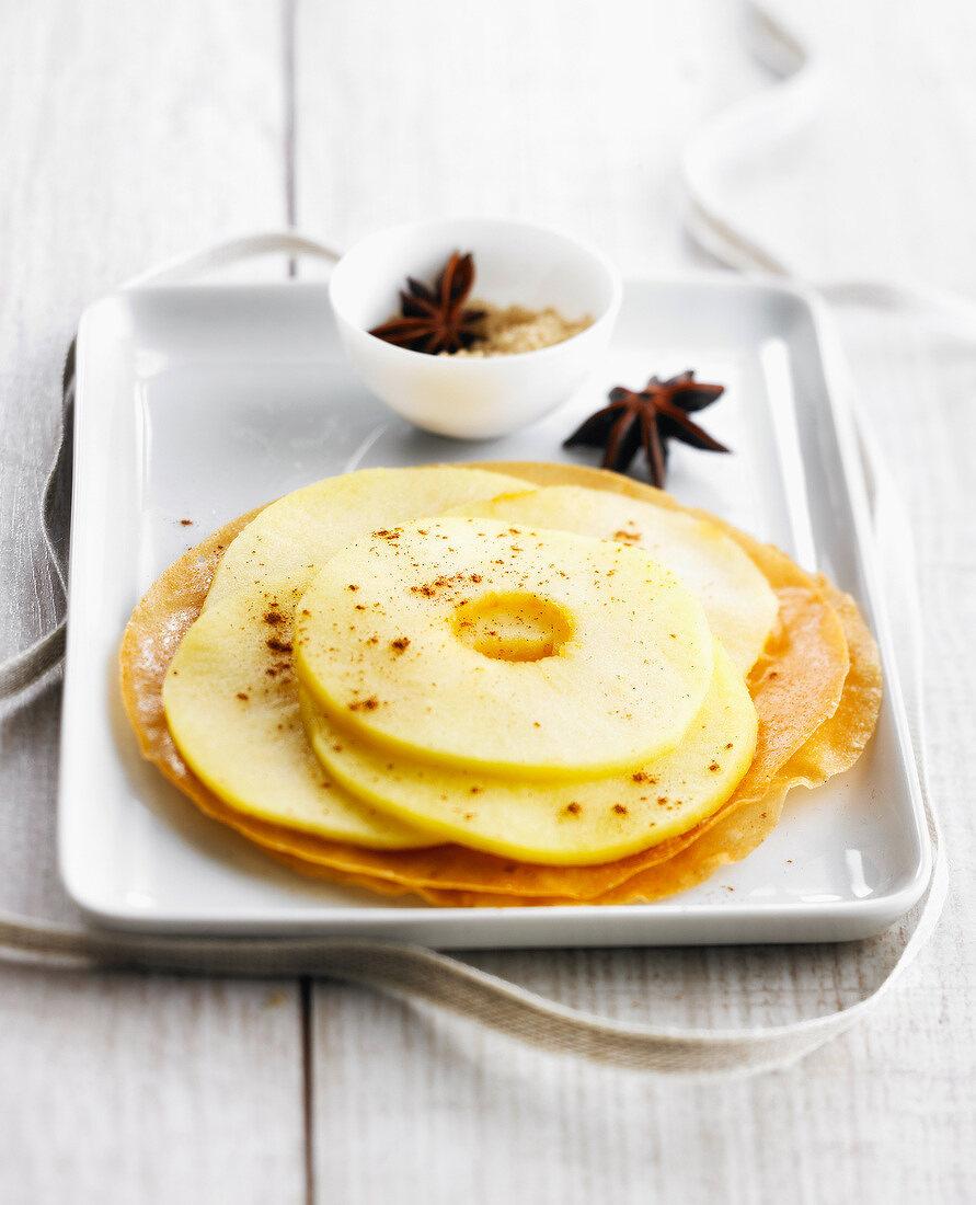 Express fine pastry apple tartlet