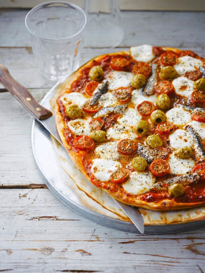 Napolitain pizza
